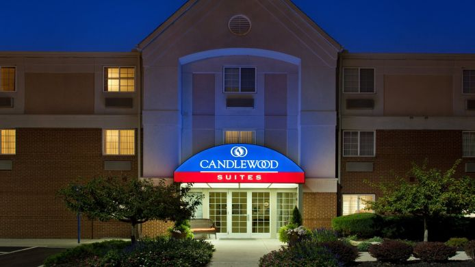 Exterior view Candlewood Suites COLUMBUS AIRPORT