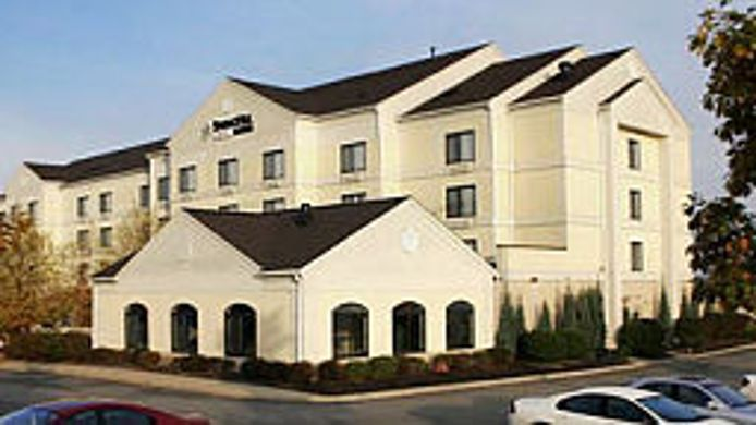 Exterior view SpringHill Suites Pittsburgh Washington