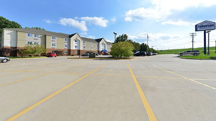 Buitenaanzicht Suburban Extended Stay Hotel Columbia - Hwy 63 & I-70