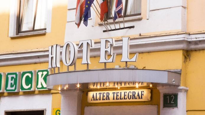Exterior view Hotel Alter Telegraf