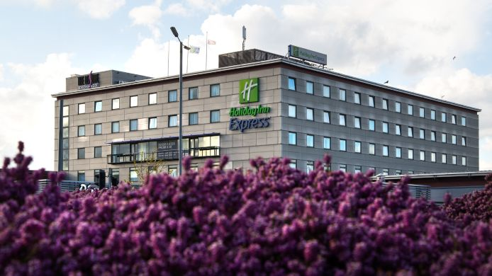 Buitenaanzicht Holiday Inn Express BRADFORD CITY CENTRE