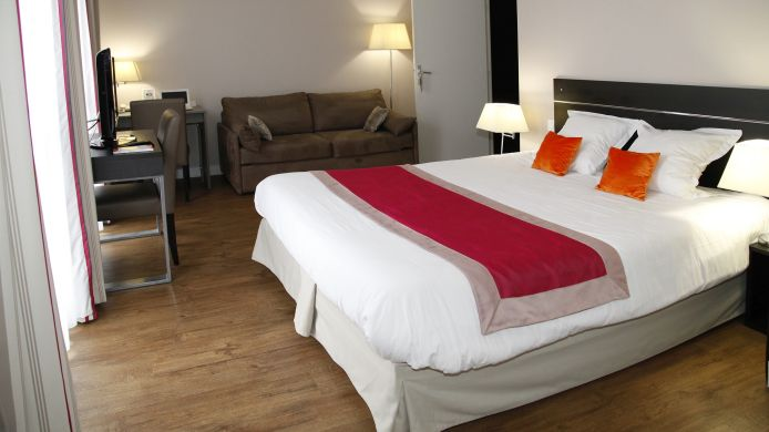 Double room (standard) Appart''Hotel Odalys Les Floridianes Residence de Tourisme