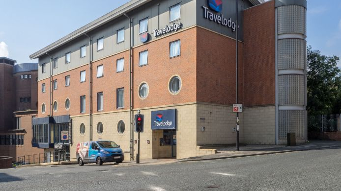 Exterior view TRAVELODGE NEWCASTLE CENTRAL