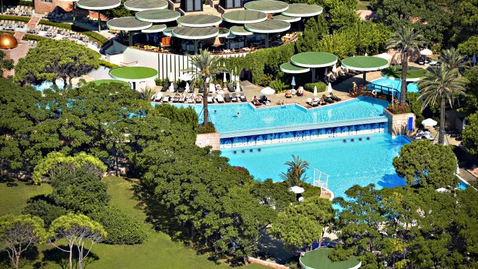 Hotel Gloria Verde Resort - 5 Star Hotel In Belek, Antalya İli 15 Sport Schwimmbad Designs
