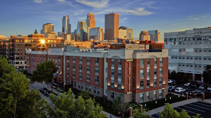 Buitenaanzicht TownePlace Suites Minneapolis Downtown/North Loop