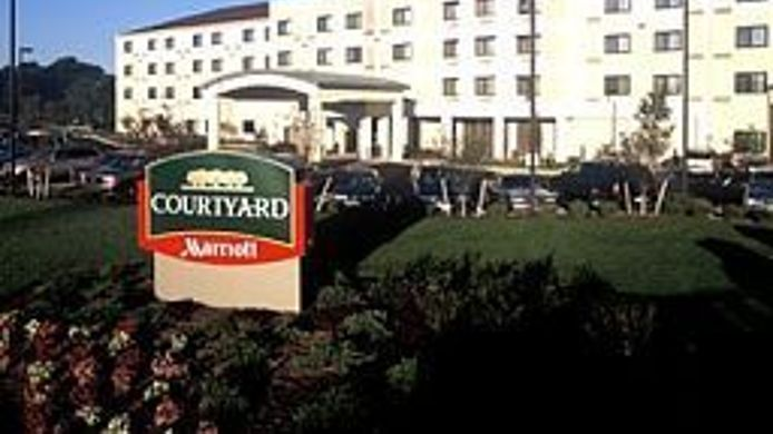 Exterior view Courtyard Middletown