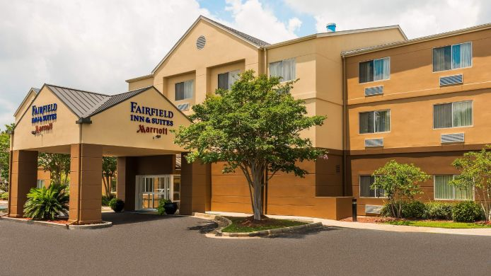 Buitenaanzicht Fairfield Inn & Suites Mobile