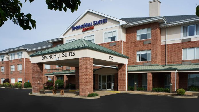 Exterior view SpringHill Suites St. Louis Chesterfield