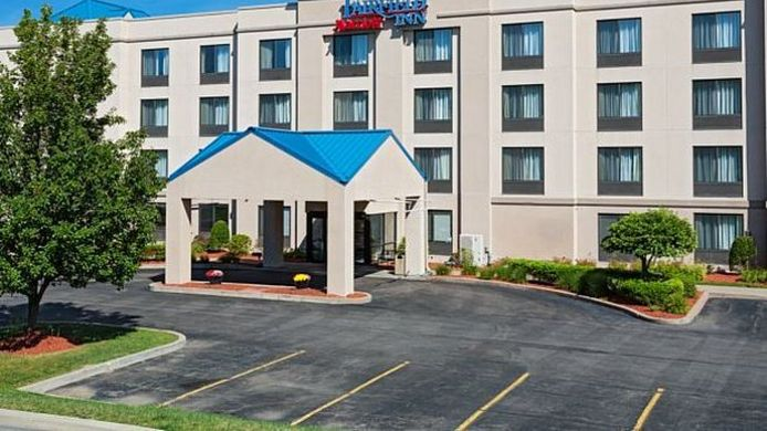 Exterior view Fairfield Inn Binghamton