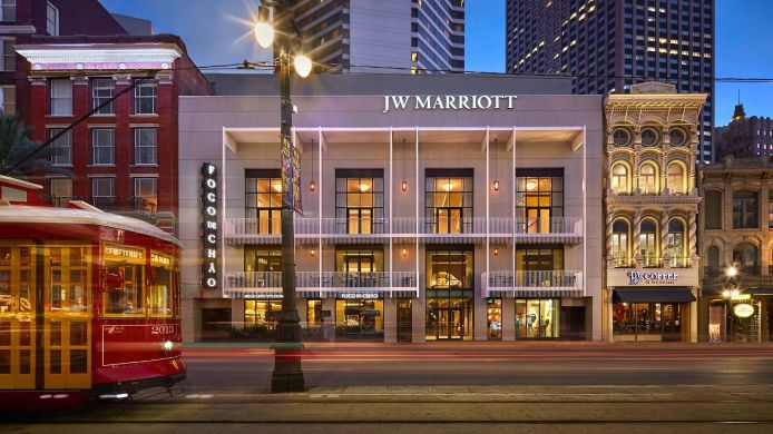 Exterior view JW Marriott New Orleans
