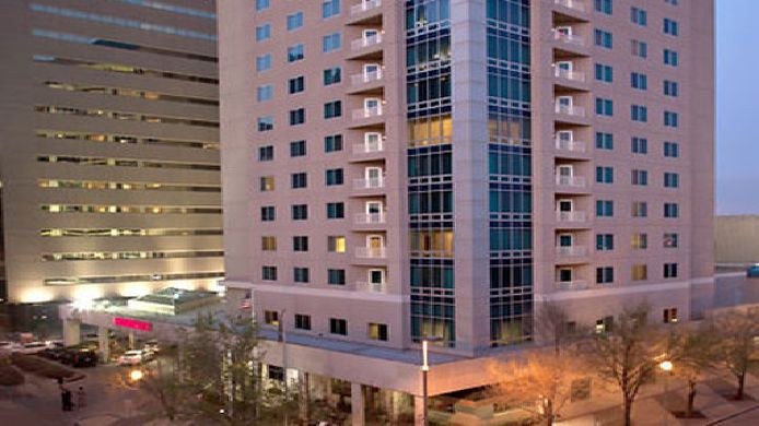 Exterior view Renaissance Oklahoma City Convention Center Hotel