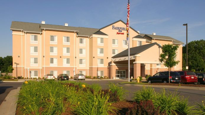 Exterior view Fairfield Inn Lexington Park Patuxent River Naval Air Station