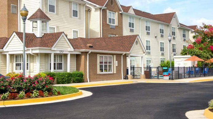 Exterior view TownePlace Suites Virginia Beach
