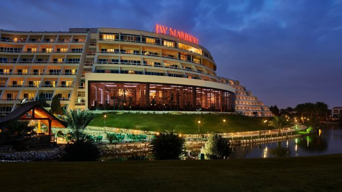 Exterior view JW Marriott Hotel Cairo