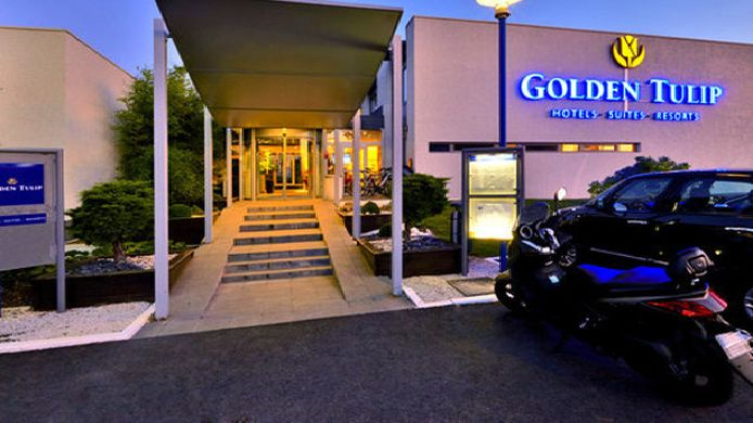 Exterior view Golden Tulip Troyes