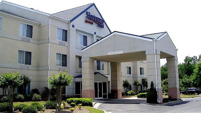 Exterior view Fairfield Inn Macon West