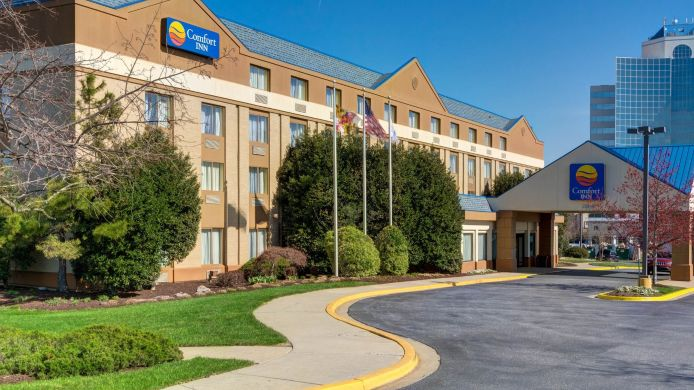 Exterior view Comfort Inn Capital Beltway/I-95 North