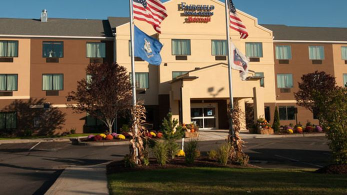 Buitenaanzicht Fairfield Inn & Suites Hartford Manchester