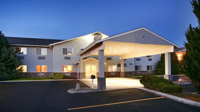 Exterior view BEST WESTERN BLACKFOOT INN