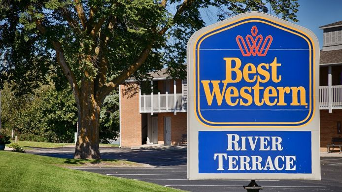 Exterior view BEST WESTERN RIVER TERRACE