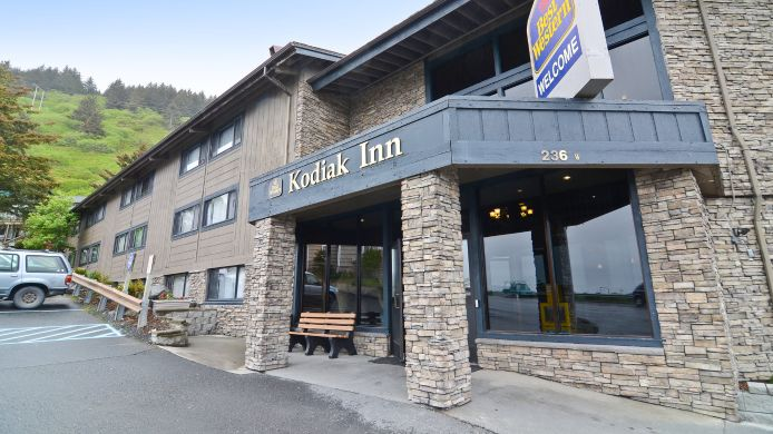 Exterior view BEST WESTERN KODIAK INN CONV