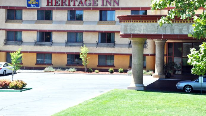 Exterior view BW HERITAGE INN - CHICO