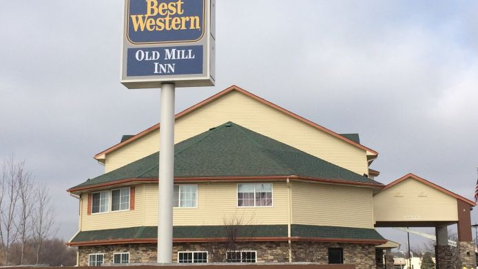 Exterior view BEST WESTERN OLD MILL INN