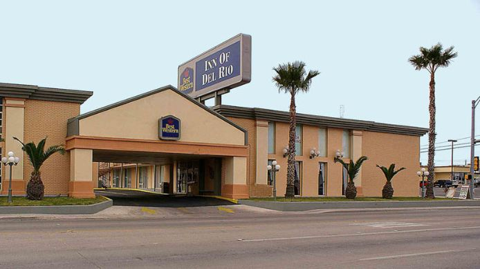 Exterior view BEST WESTERN INN OF DEL RIO