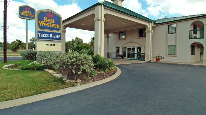 Exterior view BEST WESTERN INN-THREE RIVERS