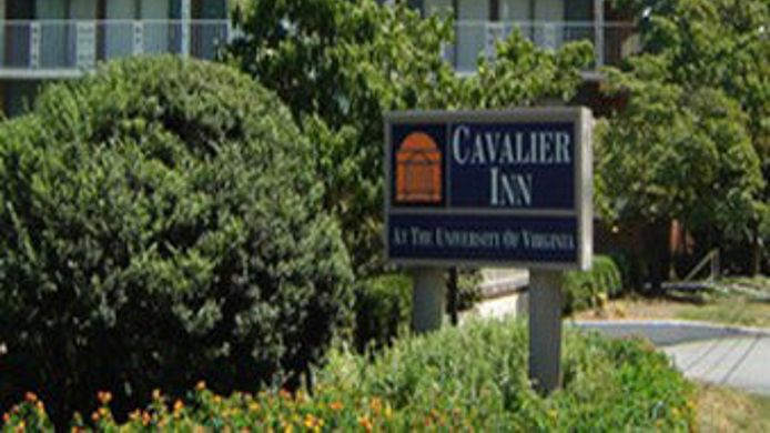 Exterior view CAVALIER INN AT THE UNIVERSITY