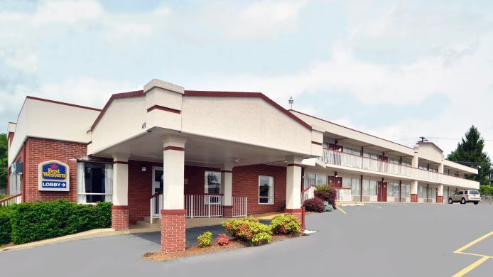 Buitenaanzicht BEST WESTERN INTOWN OF LURAY