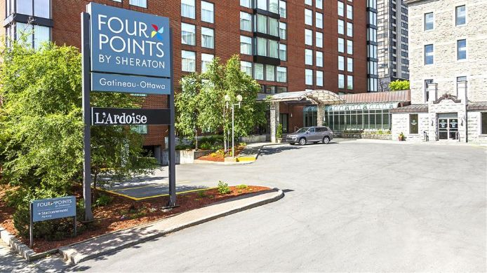 Exterior view Four Points by Sheraton Hotel & Conference Centre Gatineau-Ottawa