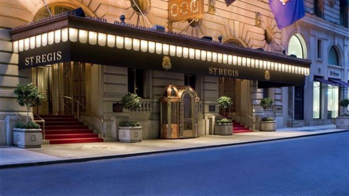 Exterior view The St. Regis New York