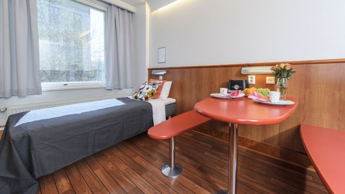 Double room (standard) Forenom Aparthotel Tampere City