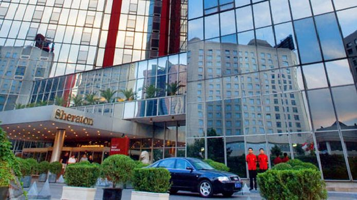 Exterior view The Great Wall Sheraton Hotel Beijing