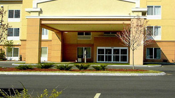 Exterior view Fairfield Inn & Suites Worcester Auburn