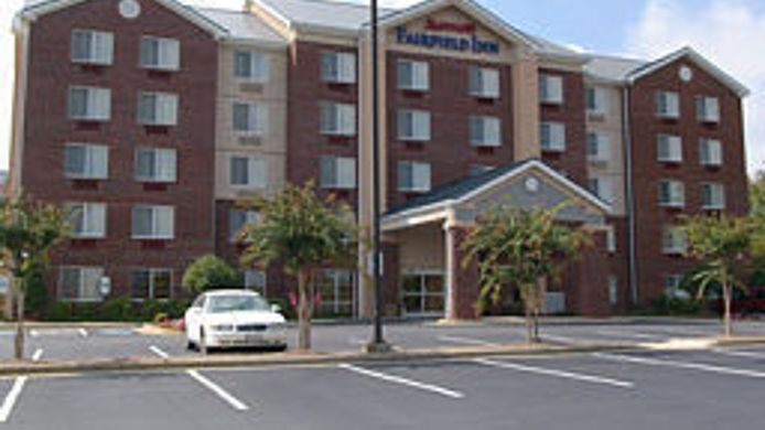 Exterior view Fairfield Inn Greensboro Airport
