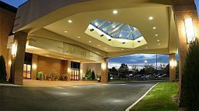 Buitenaanzicht Columbus Airport Marriott