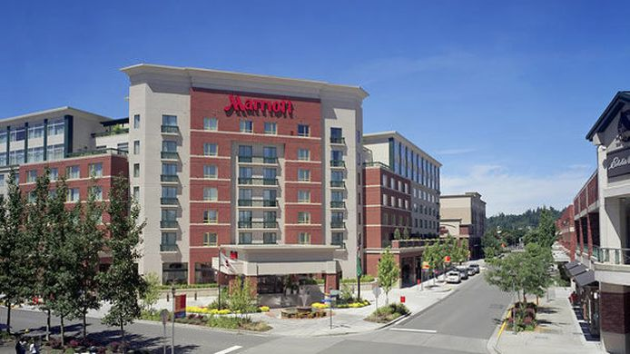 Buitenaanzicht Seattle Marriott Redmond