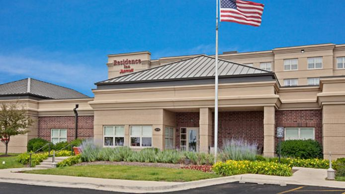 Buitenaanzicht Residence Inn Chicago Naperville/Warrenville