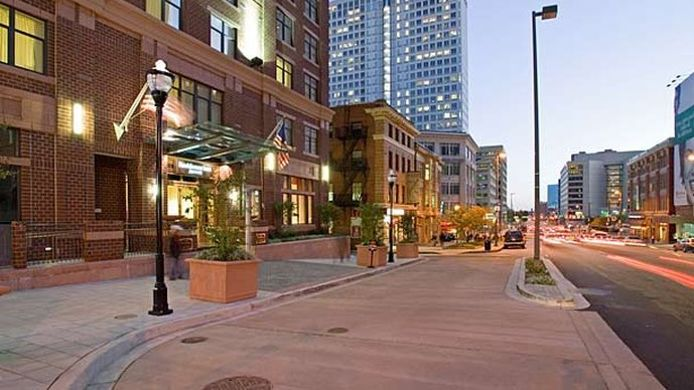 Buitenaanzicht Residence Inn Baltimore Downtown/ Inner Harbor