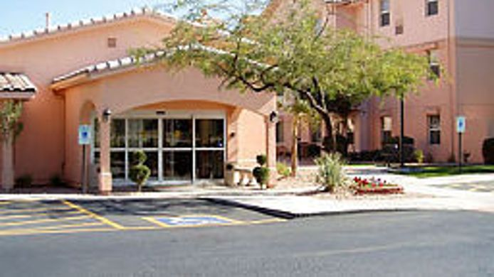 Exterior view TownePlace Suites Tempe at Arizona Mills Mall