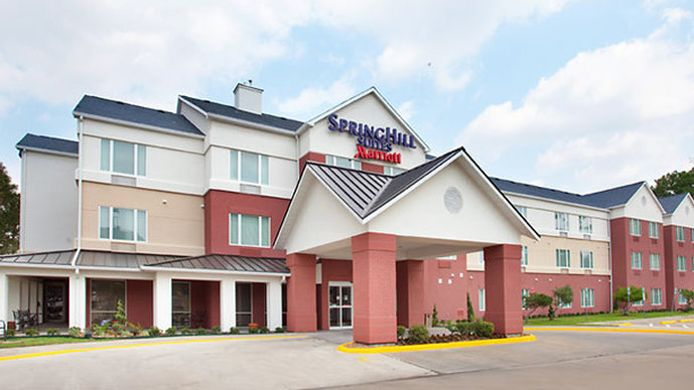 Buitenaanzicht SpringHill Suites Houston Brookhollow
