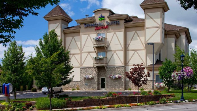 Buitenaanzicht SpringHill Suites Frankenmuth