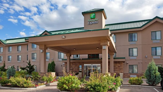 Buitenaanzicht Holiday Inn Express & Suites VERNON