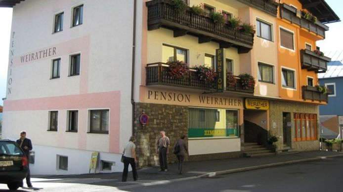 Exterior view Pension Weirather