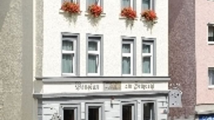 Buitenaanzicht Am Heusteig Pension