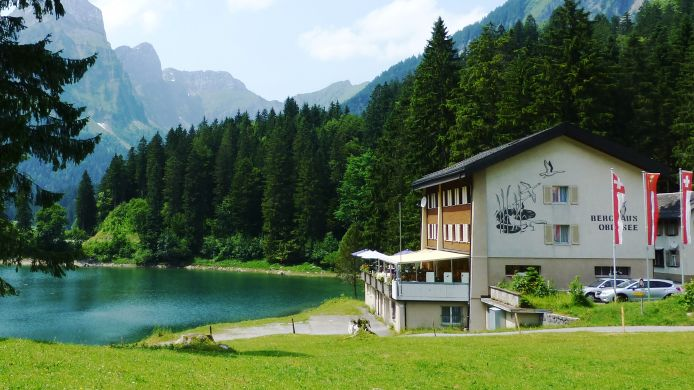 Exterior view Berghotel Obersee