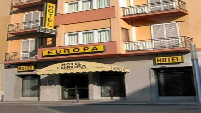 Exterior view Hotel Europa