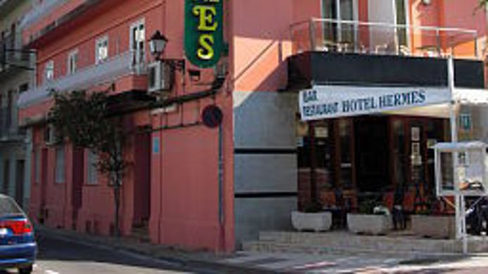 Exterior view Hermes Hotel
